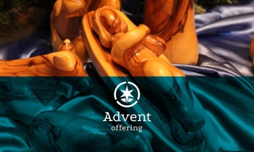 Participate in the Advent Offering today at brethren.org/adventoffering . Photo by Mandy Garcia