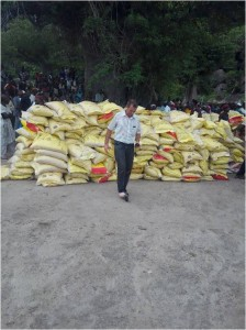 Bags of Maize (corn)