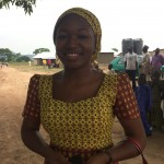 Rhoda - member of Relief Team
