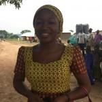 Rhoda - member of Relief Team