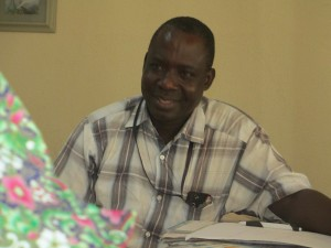 Abel - Medical Officer for Nigeria Disaster Team
