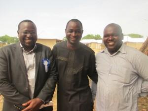 Dr Yakubu, Markus and John Joseph