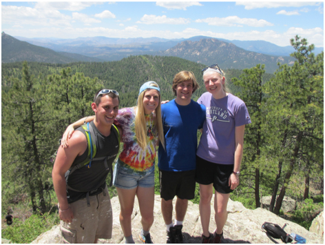 Youth Peace Travel Team at Camp Colorado