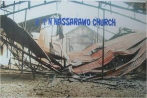 Nassarawo:  Destroyed church