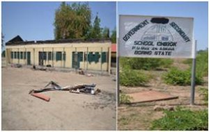 "School from which the ""Chibok girls"" were abducted"
