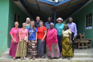 Picture by Donna Parcell Visiting Gurku (new teacher Sarah Robert on lower right)