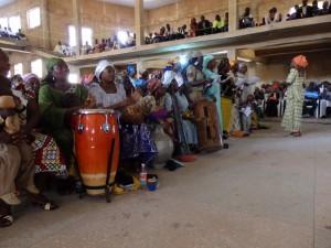 A choir in the Jos Curch