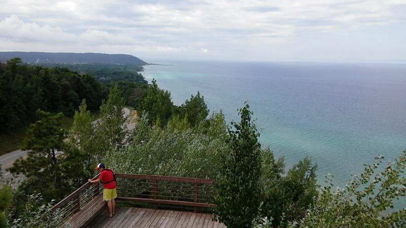 Lake Michigan overlook