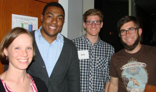 CCS leaders: from the left, Becky Ullom Naugle, Richard Newton, Jesse Winter, and Nate Hosler. Photo by Kendra Harbeck