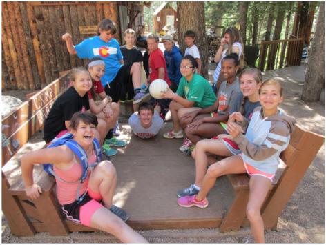 Group at Camp Colorado