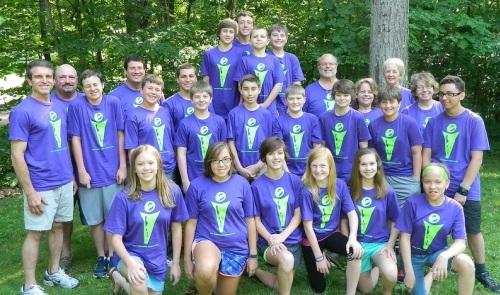 The 2014 Camp Harmony workcamp. Photo from Jenna Stacy