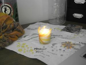 BVS orientation candle