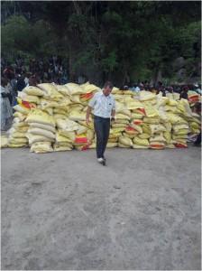 Bags of Maize (corn)