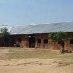 Temporary church - Giima