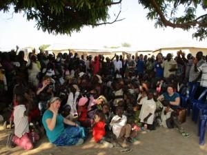 Visiting Gurku Interfaith Camp (January 2016)