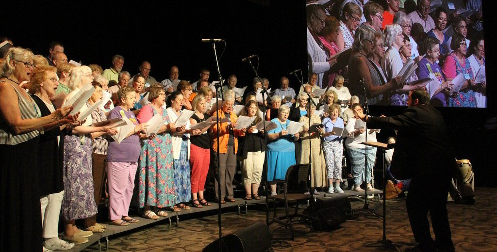 Choir singing - Annual Conference