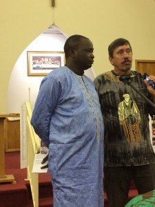 Markus at Postdam Church of the Brethren Southern Ohio District Nigeria Fundraiser