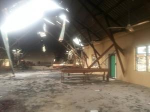 Susan's Destroyed Church