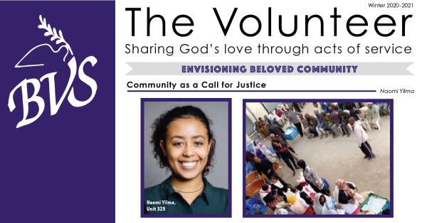 Brethren Volunteer Service - winter The Volunteer newsletter