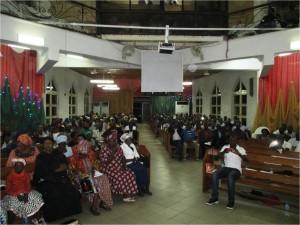 This EYN church has many tribes