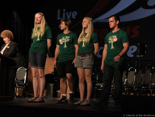 Youth Peace Travel Team at Annual Conference