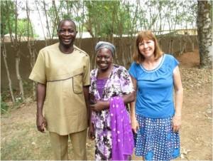 Markus with Sarah Robert and Roxane