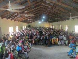 Thankful people in Jalingo