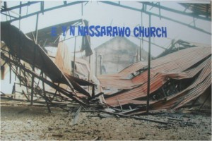 Nassarawo:  Destroyed church