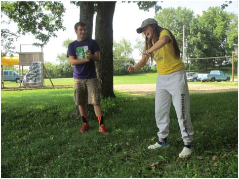 Activities at Camp Pine Lake